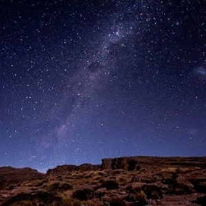 Night skies in the uKhahlamba Drakensberg Park, KwaZulu-Natal, South Africa