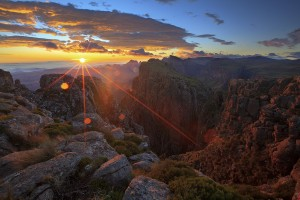 Ukhahlamba Drakensberg Mountains - Lesotho and South Africa