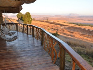 Accommodation in a luxury Drakensberg Cave