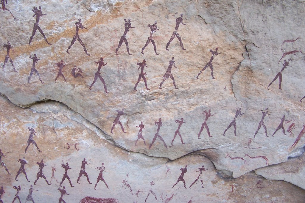 Rock art in the Drakensberg Mountains