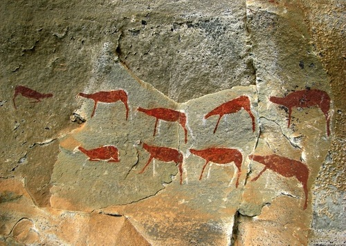 drakensberg rock art